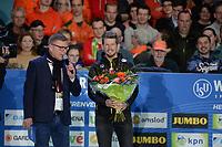 SCHAATSEN: HEERENVEEN: 07-03-2020, IJsstadion Thialf, ISU World Cup Final, afscheid Douwe de Vries, ©foto Martin de Jong