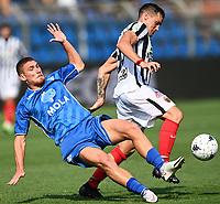 Mg Como 11/09/2021 - campionato di calcio serie B / Como-Ascoli / photo Image Sport/Insidefoto<br /> nella foto: Dario Saric-Alessandro Gabrielloni