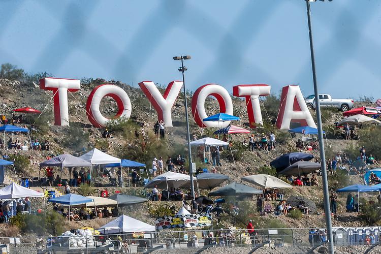Toyota letters on Rattlesnake Hill