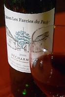 Chateau les Farcies du Pech Pecharmant, France Bergerac Dordogne France