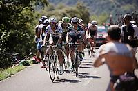 race leaders with a 18-minute lead over the Alta del Tenebro climb.<br /> <br /> stage 16: Luarca - Ermita de Alba<br /> 2015 Vuelta à Espagna