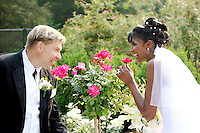 ©Tom Zuback we stopped to smell the roses.  Chandra-Lindemann 6-14-08 wedding in NJ