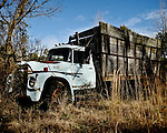 Old truck near Oxford, Miss. on February 24, 2009