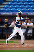 Canisius College Golden Griffins right fielder Ryan Creps (2) at bat during the first game of a doubleheader against the Michigan Wolverines on February 20, 2016 at Tradition Field in St. Lucie, Florida.  Michigan defeated Canisius 6-2.  (Mike Janes/Four Seam Images)