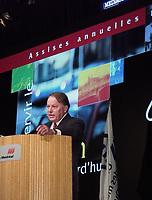Les assises  de l'Union des Municipalitees du Quebec<br /> , du 6 au 8 mai 1999, au Palais des Congres -<br /> Bernard Landry<br /> <br /> <br /> PHOTO : Agence Quebec Presse