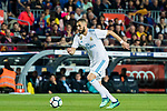 Karim Benzema of Real Madrid in action during the La Liga 2017-18 match between FC Barcelona and Real Madrid at Camp Nou on May 06 2018 in Barcelona, Spain. Photo by Vicens Gimenez / Power Sport Images