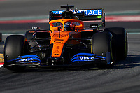 #55 Carlos Sainz Jr McLaren Renault. Formula 1 World championship 2020, Winter testing days #1 2020 Barcelona, 19-21 February 2020.<br /> Photo Federico Basile / Insidefoto