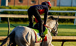 April 26, 2021: Soup and Sandwich, trained by trainer Mark Casse, exercises in preparation for the Kentucky Derby at Churchill Downs on April 26, 2021 in Louisville, Kentucky. Scott Serio/Eclipse Sportswire/CSM
