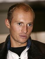 8-2-06, Netherlands, tennis, Amsterdam, Daviscup.Netherlands Russia, Davydenko