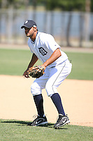 March 21st 2008:  Luis Grullon of the Detroit Tigers minor league system during Spring Training at Tiger Town in Lakeland, FL.  Photo by:  Mike Janes/Four Seam Images