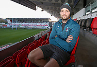 Monday 18th November 2019 | Ulster Rugby Match Briefing<br /> <br /> Ulster captain Iain Henderson at the Match Briefing held at Kingspan Stadium, Belfast ahead of the Heineken Champions Cup Round 2 clash against ASM Clermont Auvergne at Kingspan Stadium, Belfast,  on Friday evening .  Photo by John Dickson / DICKSONDIGITAL
