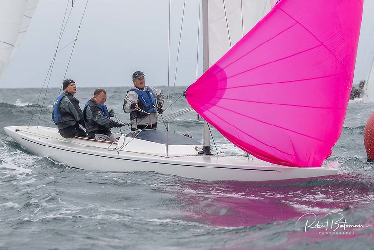 Royal St. George's Peter Bowring, Neil Hegarty and David Williams are the 2021 Irish Dragon championships winners after a seven-race contest off Kinsale