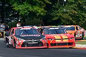 #20: Christopher Bell, Joe Gibbs Racing, Toyota Camry Ruud, #7: Justin Allgaier, JR Motorsports, Chevrolet Camaro BRANDT Professional Agriculture
