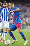 FC Barcelona's Sergino Dest during La Liga match. August 15, 2021. (ALTERPHOTOS/Acero)