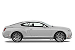 Passenger side profile view of a 2008 - 2012 Bentley Continental GT Speed Coupe.