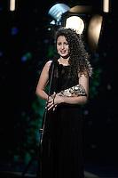 Oulaya AMAMRA ( Cesar meilleur espoir feminin ) - 42eme ceremonie des CESAR - 24 fevrier 2017 - salle Pleyel - Paris - France