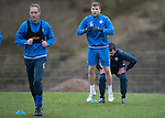 St Johnstone Training….20.01.17<br />David Wotherspoon pictured during training this monring ahead of tomorrow's Scottish Cup game against Stenhousemuir.<br />Picture by Graeme Hart.<br />Copyright Perthshire Picture Agency<br />Tel: 01738 623350  Mobile: 07990 594431