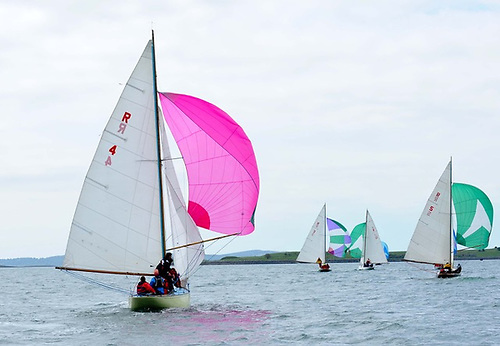 A recent River racing series on Strangford Lough