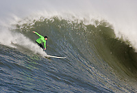 Matt Ambrose. Mavericks Surf Contest in Half Moon Bay, California on February 13th, 2010.