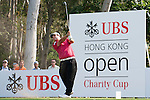 Patrick Reed of USA hits the ball during Hong Kong Open golf tournament at the Fanling golf course on 23 October 2015 in Hong Kong, China. Photo by Xaume Olleros / Power Sport Images