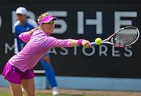 Netherlands, Rosmalen , June 08, 2015, Tennis, Topshelf Open, Autotron, Eugenie Bouchard (CAN)  <br /> Photo: Tennisimages/Henk Koster