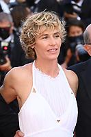 CANNES, FRANCE. July 10, 2021: Cecile De France at the premiere of Peaceful (De Son Vivant) at the 74th Festival de Cannes.<br /> Picture: Paul Smith / Featureflash
