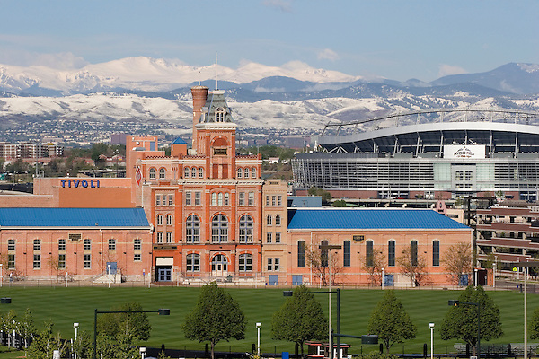 Tivoli Brewery, Auraria, Denver, Colorado, USA