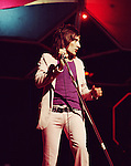 The Faces 1971 Rod Stewart on Top Of The Pops.© Chris Walter.