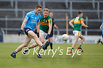 Brian Fenton, Dublin in action against Gavin Crowley, Kerry during the Allianz Football League Division 1 South between Kerry and Dublin at Semple Stadium, Thurles on Sunday.