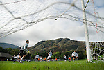 Coniston defending, Coniston 0 Penrith 0 Talbot Westmorland League 20th September 2008.