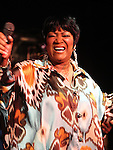 """June 3, 2010 New York: Singer Patti LaBelle performs """"BB King's Blues Club"""" on June 3, 2010 in New York City."""