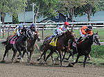 Unbridled Forever, ridden by John Velazquez and trained by Dallas Stewart, wins the 37th running of the grade 1 Ballerina Stakes for older females on August 29, 2015 at Saratoga Race Course in Saratoga Springs (Sophie Shore/Eclipse Sportswire)
