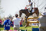 APRIL 26, 2014: ZIGGY, ridden by Rachel Jurgens (USA), competes in the Cross County Test at the Rolex Kentucky 3-Day Event at the Kentucky Horse Park in Lexington, KY. Jon Durr/ESW/CSM
