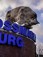 Eingang zum Fleischgroßmarkt, Lagerstraße 17, 20357 Hamburg, Deutschland, Europa