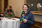 December 7, 2018; President's Christmas reception in the Main Building. (Photo by Barbara Johnston/University of Notre Dame)