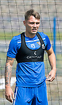 St Johnstone Training….29.06.19   McDiarmid Park, Perth<br />Jason Kerr<br />Picture by Graeme Hart.<br />Copyright Perthshire Picture Agency<br />Tel: 01738 623350  Mobile: 07990 594431