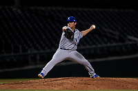 AZL Royals relief pitcher Emilio Marquez (40) during an Arizona League game against the AZL Cubs 1 on June 30, 2019 at Sloan Park in Mesa, Arizona. AZL Royals defeated the AZL Cubs 1 9-5. (Zachary Lucy/Four Seam Images)