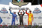 Verizon IndyCar Series<br /> IndyCar Grand Prix<br /> Indianapolis Motor Speedway, Indianapolis, IN USA<br /> Saturday 13 May 2017<br /> Scott Dixon, Chip Ganassi Racing Teams Honda, Will Power, Team Penske Chevrolet, Ryan Hunter-Reay, Andretti Autosport Honda, podium<br /> World Copyright: Michael L. Levitt<br /> LAT Images