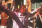 Holi Celebration, Spring, Brindaban, India