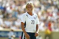 Abby Wambach, USWNT vs. Mexico, September 7, 2003.