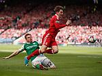 Fraser Fyvie fouls Kenny McLean for free-kick