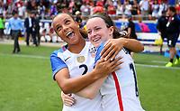 Houston, TX - April 9, 2017: The U.S. Women's national team defeat Russia 5-1 in an international friendly match at BBVA Compass Stadium.