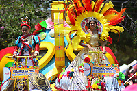 BARRANQUILLA - COLOMBIA, 24-02-2019: Con el desfile del Carnaval de Los Niños los organizadores de las fiestas del dios momo aseguran la continuidad de la tradición, que fue declarada Patrimonio Cultural e Intangible de la Humanidad. Este evento es el abreboca del Carnaval de Barranquilla 2019 que llegará a su máxima expresión a partir del próximo fin de semana y hasta el martes 5 de marzo de 2019. / With the parade of the Children's Carnival, the organizers of the celebrations of the god momo ensure the continuity of the tradition, which was declared Cultural and Intangible Heritage of Humanity. This event is the opening of the Carnival of Barranquilla 2019 that will reach its maximum expression from next weekend and until Tuesday March 5, 2019. Photo: VizzorImage / Alfonso Cervantes / Cont.