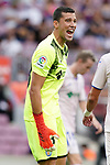 Getafe CF's David Soria during La Liga match. August 29, 2021. (ALTERPHOTOS/Acero)