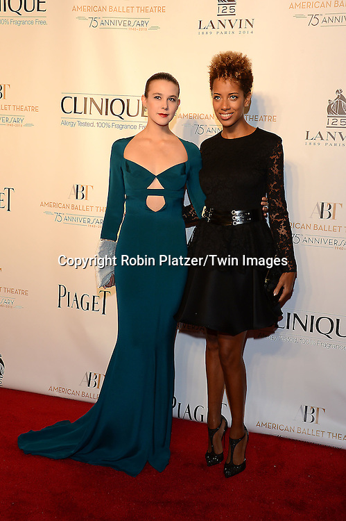 Stephanie Williams and Carly Cushnie attend the Opening Night of American Ballet Theatre 2014 Fall Gala on October 22,2014 at the David Koch Theater at Lincoln Center in New York City. <br /> <br /> photo by Robin Platzer/Twin Images<br />  <br /> phone number 212-935-0770