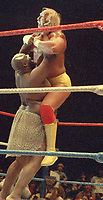 Hulk Hogan Kamala 1987                                              By John Barrett/PHOTOlink
