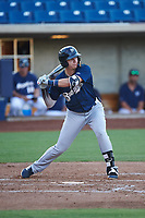 AZL Brewers Blue Anderson Melendez (5) at bat during an Arizona League game against the AZL Brewers Gold on July 13, 2019 at American Family Fields of Phoenix in Phoenix, Arizona. The AZL Brewers Blue defeated the AZL Brewers Gold 6-0. (Zachary Lucy/Four Seam Images)