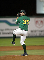 Dan McDaniel / Boise Hawks pitching against the Yakima Bears - Boise, ID - 08/27/2008..Photo by:  Bill Mitchell/Four Seam Images