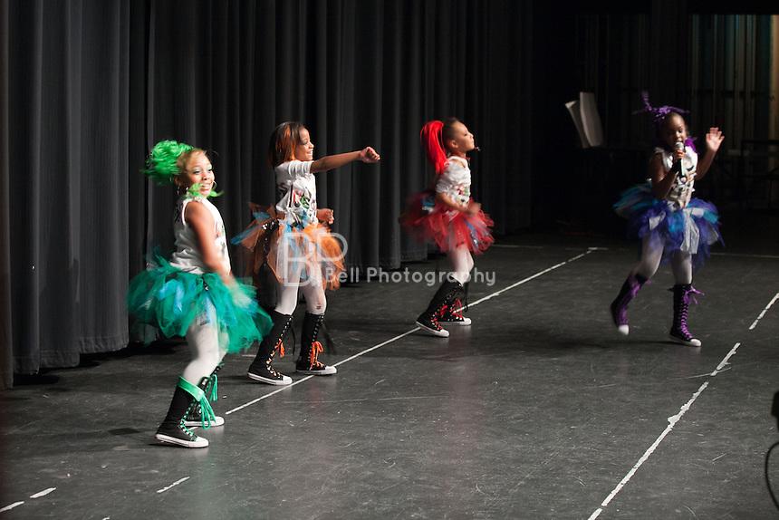 Recess performing at the Nebraska's Got Talent, Burke High School, Omaha, NE