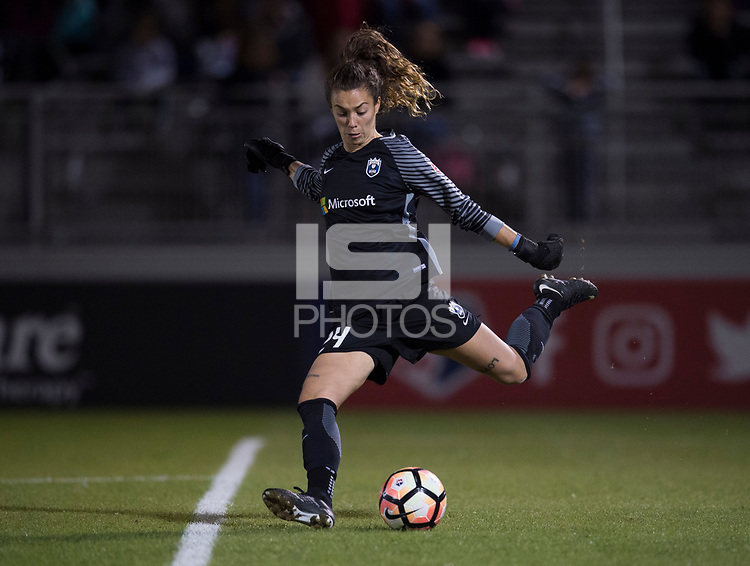 Boyds, MD - Saturday September 30, 2017: Madalyn Schiffel during a regular season National Women's Soccer League (NWSL) match between the Washington Spirit and the Seattle Reign FC at Maureen Hendricks Field, Maryland SoccerPlex.